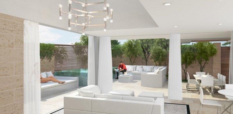 Interior villa double space - Low