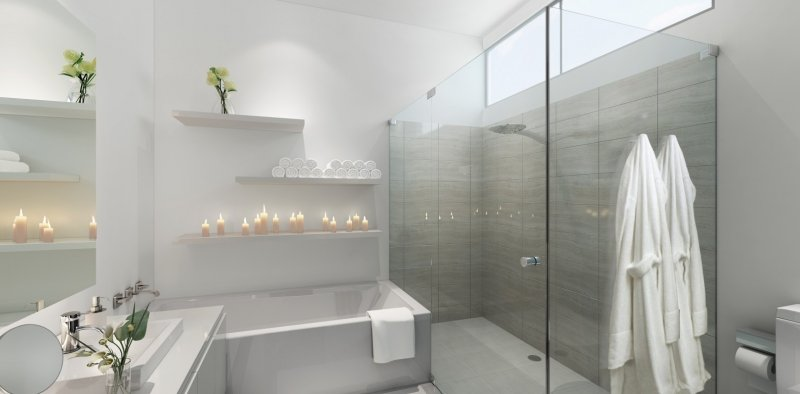 Master bathroom - Low