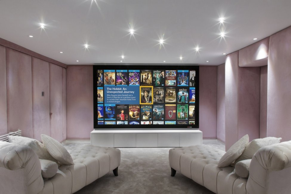 cinema basement