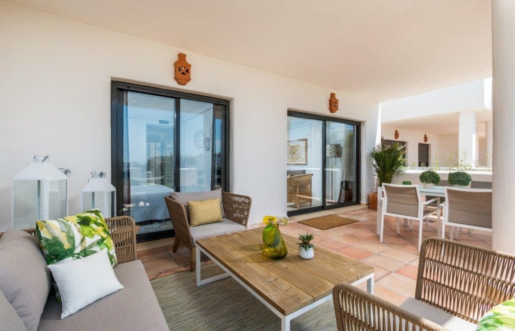 6 TERRACE APARTMENT SUNSET GOLF DISCOUNT PROPERTY CENTER MARBELLA