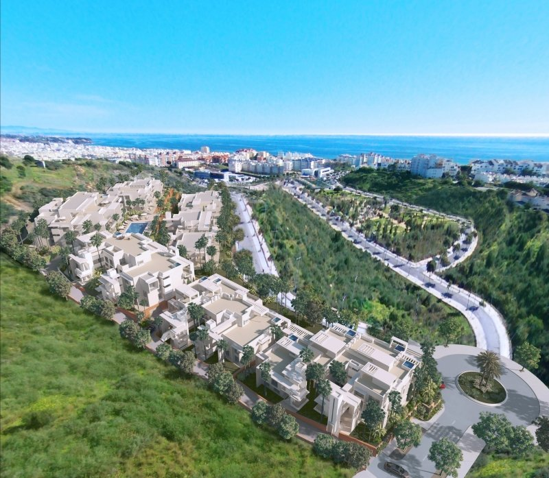 New residential of apartments in Estepona in Estepona