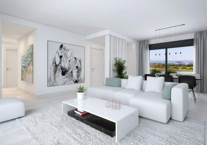New development in Torremolinos in Torremolinos
