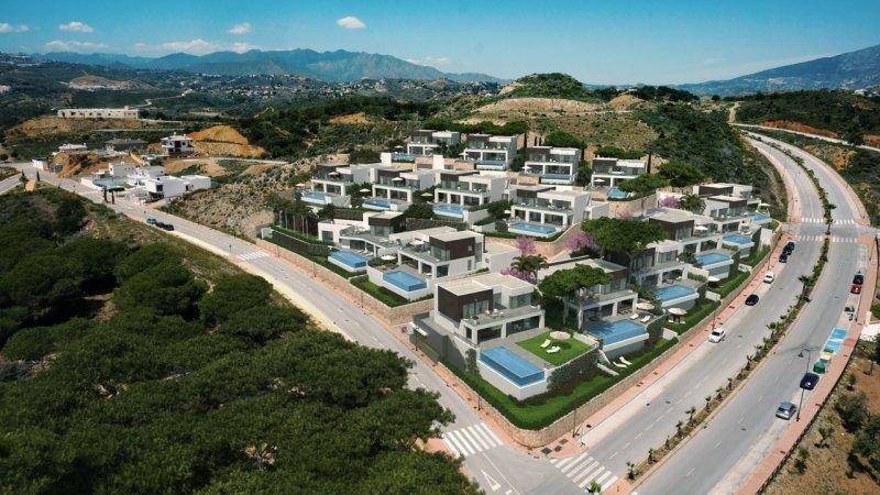 Villas en La Cala de Mijas en Mijas