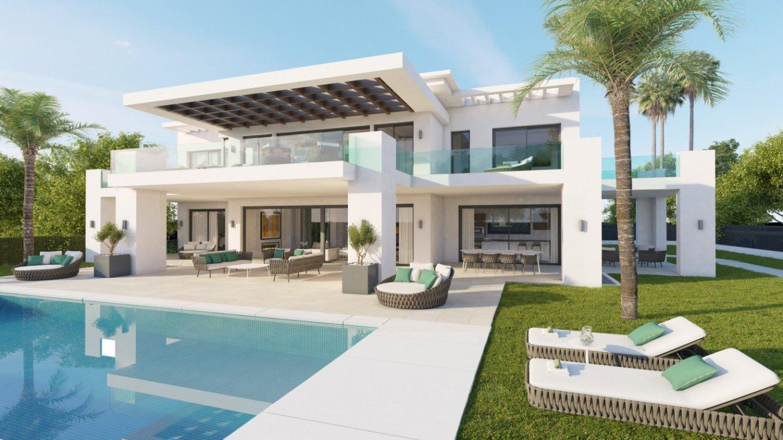 Villas independientes en Nueva Andalucia en Marbella
