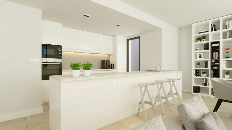 Apartamentos sobre plano en La Gaspara, Estepona en Estepona
