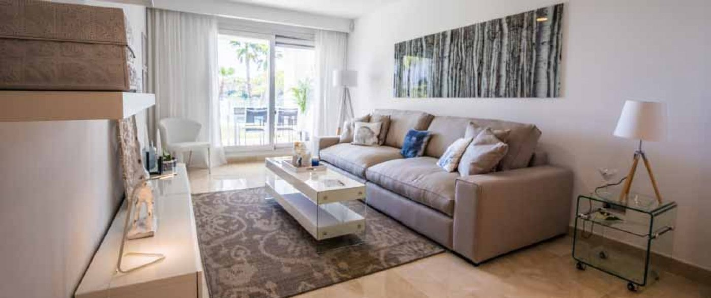 Apartments with sea views in La Mairena in Marbella