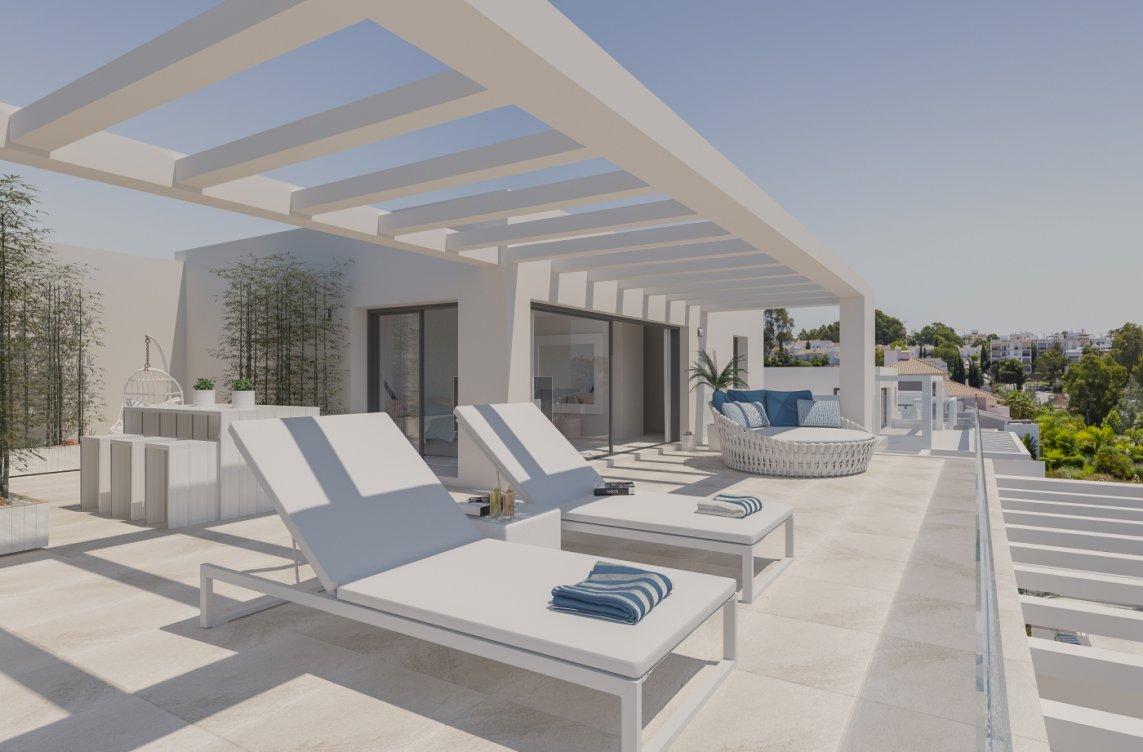 New development in El Campanario in Estepona