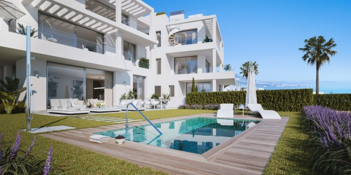 Exclusive residential in Mijas Costa in Mijas