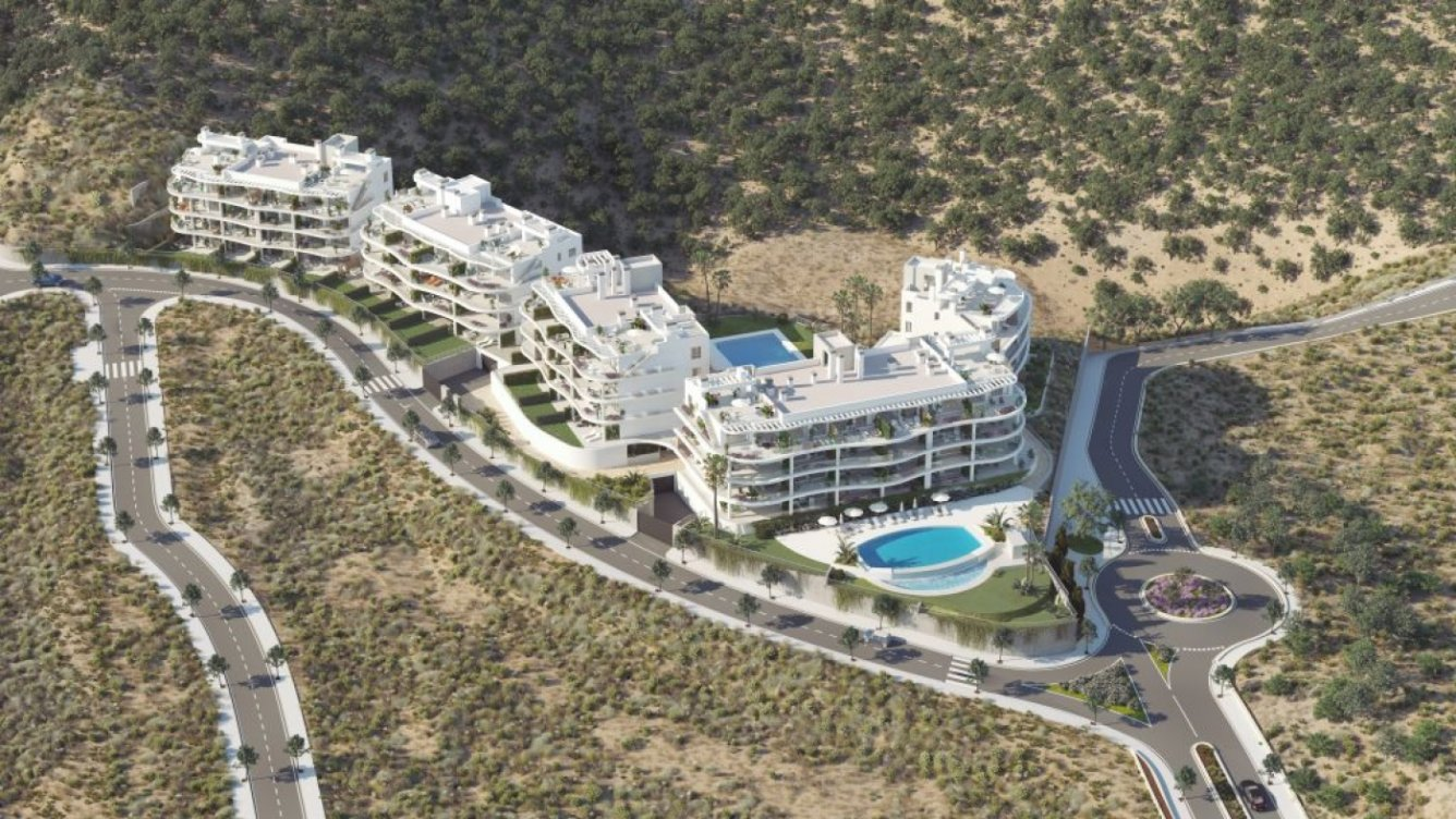 Apartments next to Reserva del Higueron in Fuengirola