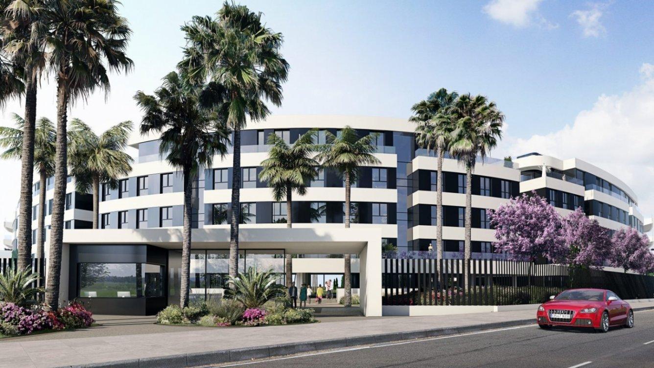 New development in Los Alamos in Torremolinos
