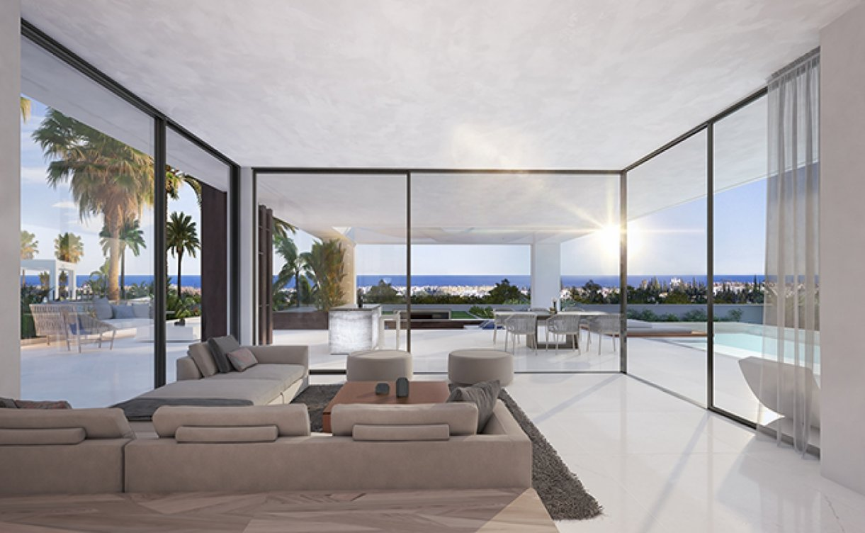 Villas off plan in Estepona in Estepona