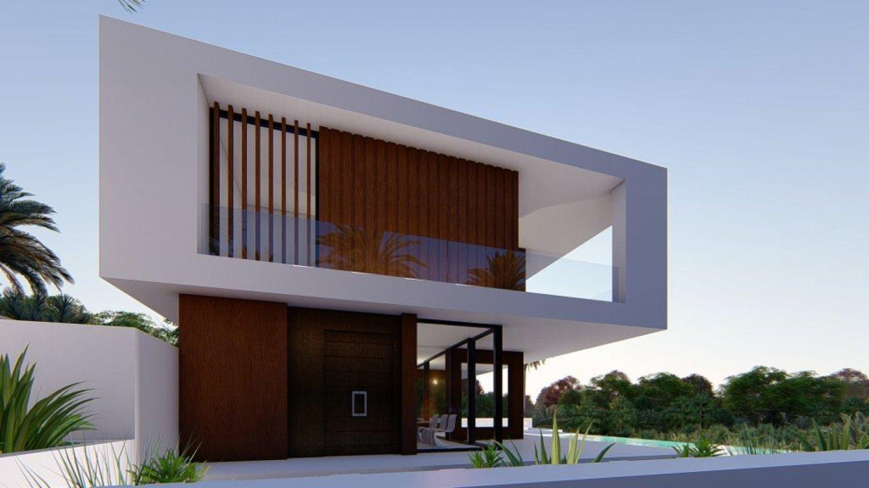 Moderna villa en Valle Romano en Estepona