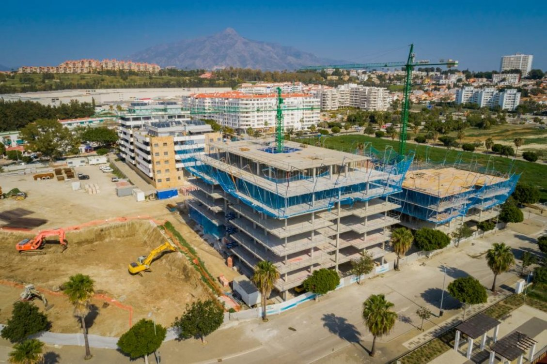 Promoción de apartamentos en Nueva Andalucia en Marbella