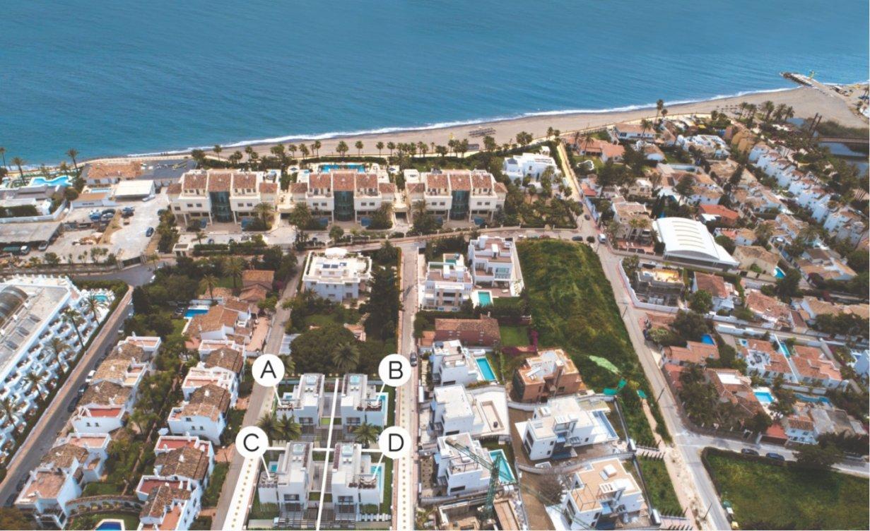 Exclusivas villas en Milla de Oro en Marbella