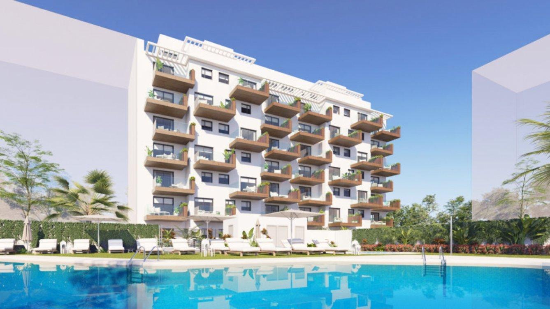 Apartamentos sobre plano en Torre del Mar en Torre del Mar