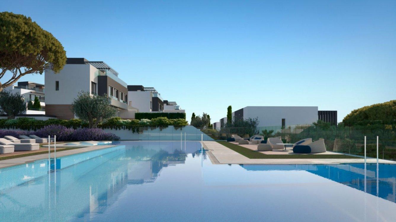 Villas pareadas en El Campanario en Estepona