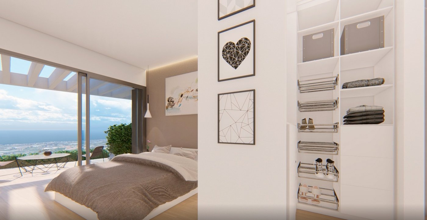 Apartments with sea views in Torrox in Torrox