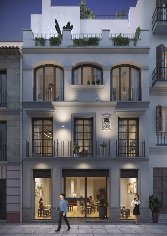 Viviendas de lujo en el centro de Málaga en Málaga