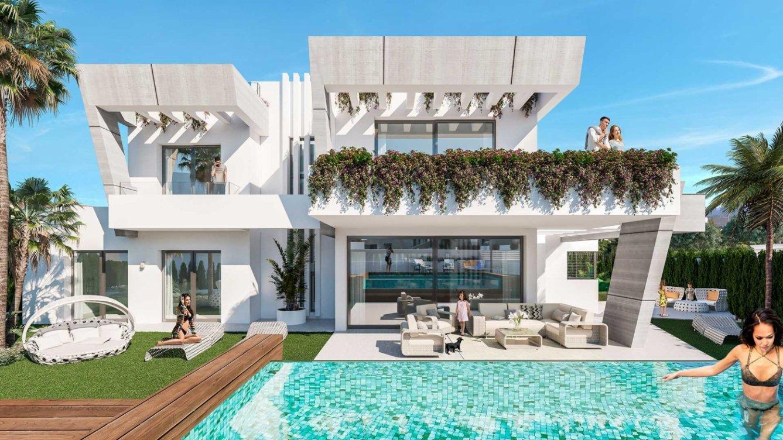 Semi-detached houses in Puerto Banus in Marbella