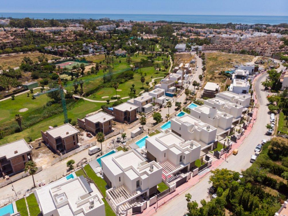 Villas en el Campanario en Estepona