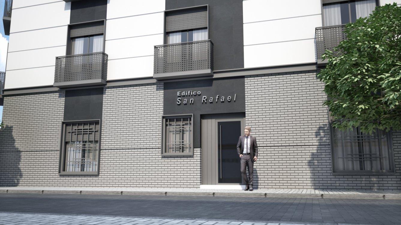 Edificio San Rafael en Málaga