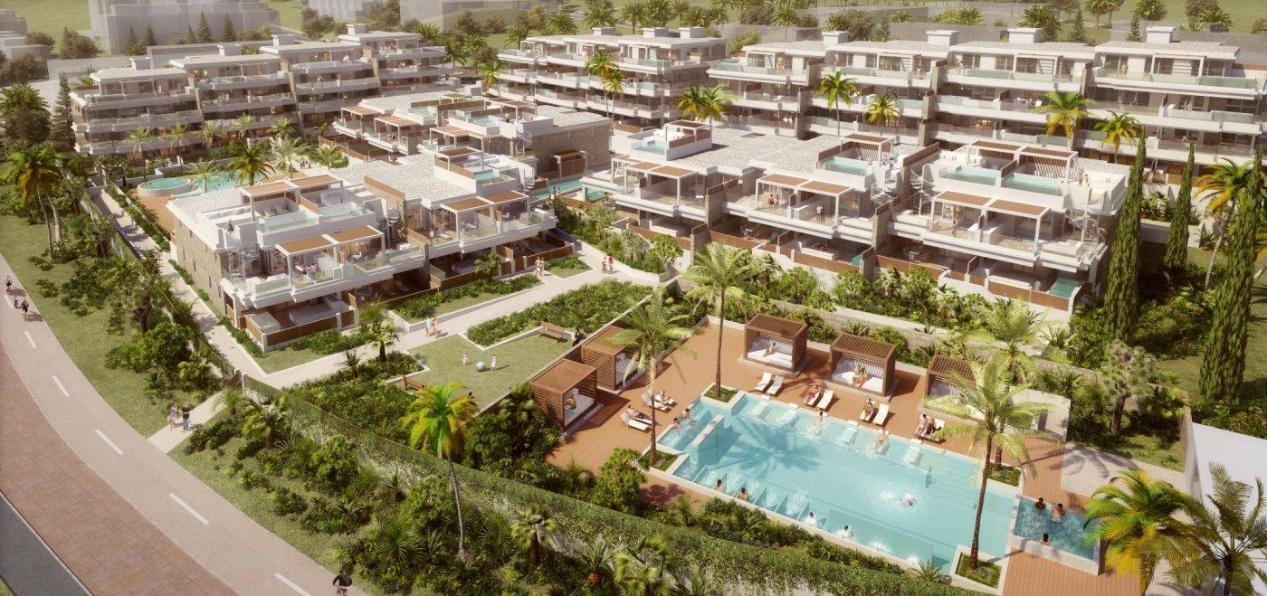 Proyecto apartamentos nuevos en La Cala de Mijas en Mijas